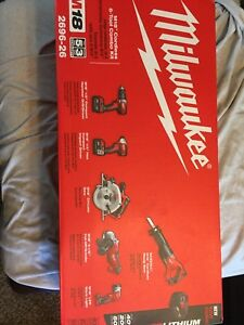 New in box Milwaukee M18 6pc tool set