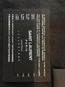 Genuine YSL Black Monogrammed Petite Cross Body Bag Harrison Gungahlin Area Preview