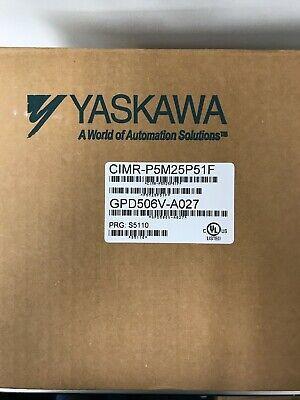 Yaskawa Gpd 506ac Drive 7.5 10hp 230v Cimr-p5m25p51f New
