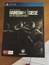 Rainbow six seige ps4 ( art of siege edition ) Tea Tree Gully Tea Tree Gully Area Preview
