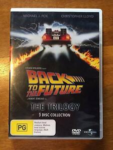 Back to the Future Trilogy on DVD Chidlow Mundaring Area Preview