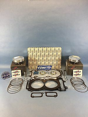 POLARIS 900 RZR VERTEX TOP END PISTON GASKET SET 2011-2014 XP RANGER 4 EFI EPS