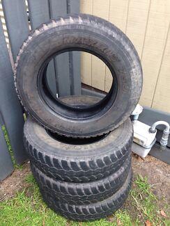 4x maxxis mud tyres 4x4 205 r16c Tootgarook Mornington Peninsula Preview