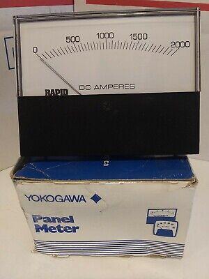 Yokogawa 0-2000 Dc Panel Meter