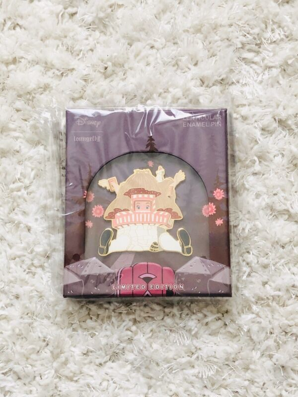 NEW! Loungefly X Disney Alice in Wonderland Lenticular  Enamel LE 500 Jumbo Pin