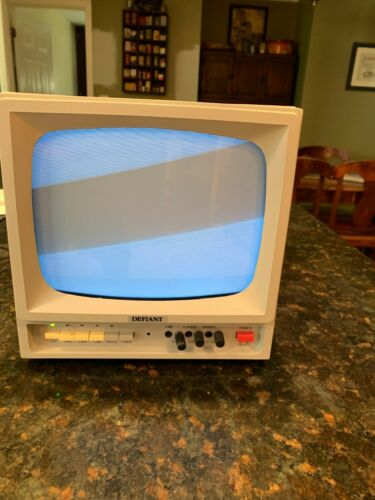 Linear Defiant Model 207520 B&W Video Monitor Retro Gaming Vintage