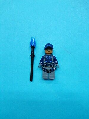 Lego Jurassic World Minifigure ACU Trooper - Ball Cap w/ Taser 75916!