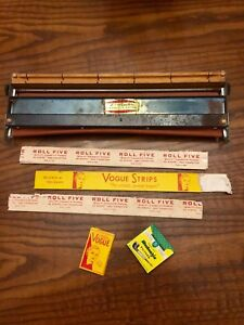 Vintage 1947 cigarette rolling machine