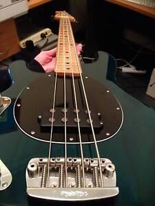 4 string Lefthanded Musicman Stingray bass  guitar Maddington Gosnells Area Preview