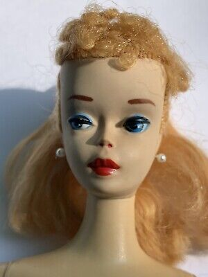 Vintage 3 Or 4 Ponytail Barbie