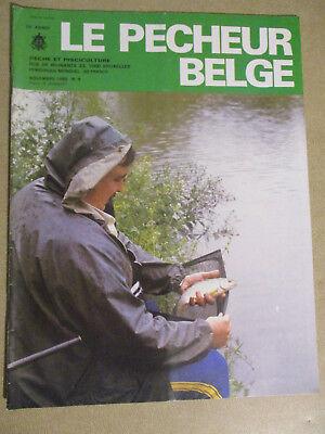 LE PECHEUR BELGE: N°9: NOVEMBRE 1985: PECHE ET PISCICULTURE
