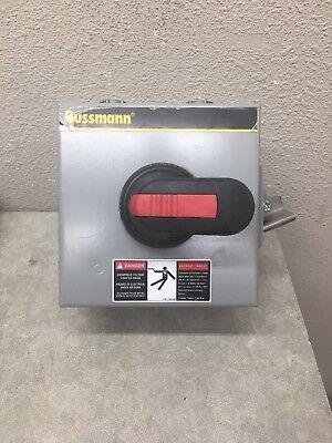 Bussmann Enf161-3pb6 Rotary Disconnect 3p 16a 600v Nema 3 N