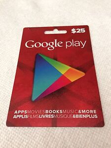 25$ Google Play for 20$