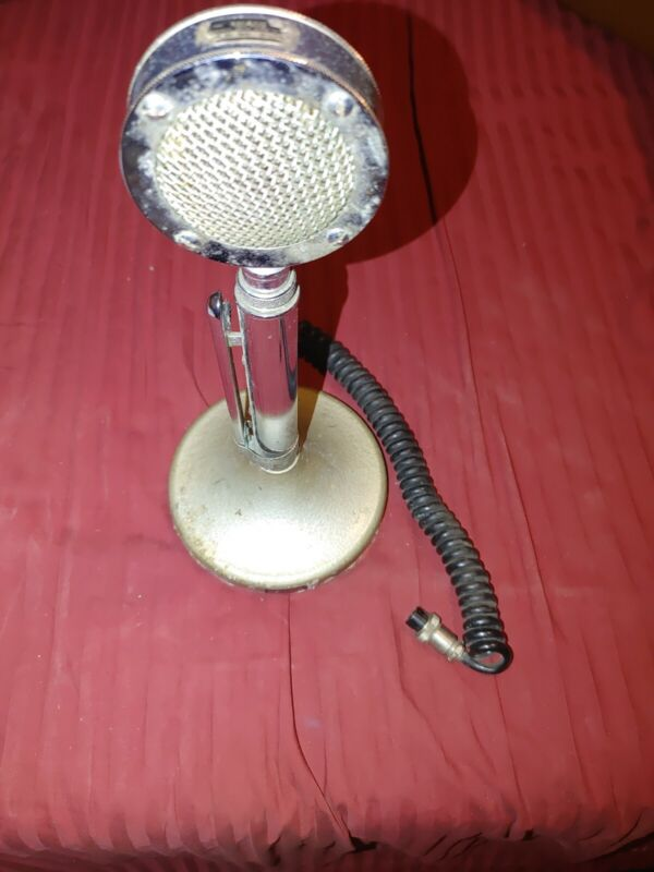 Astatic D-104 Mic And Stand