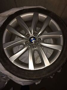 BMW oem 19'wheels and tires (245-40-19)