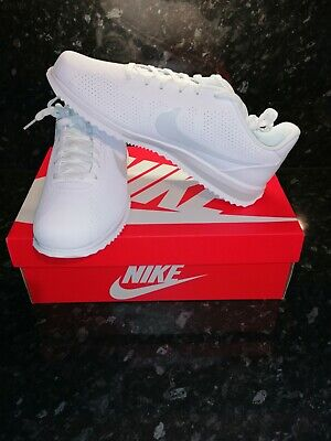 Nike Cortez Ultra Moire Trainers UK 12 White / Pure Platinum