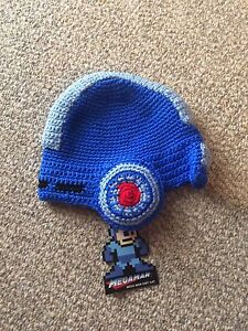 Mega man knit hat