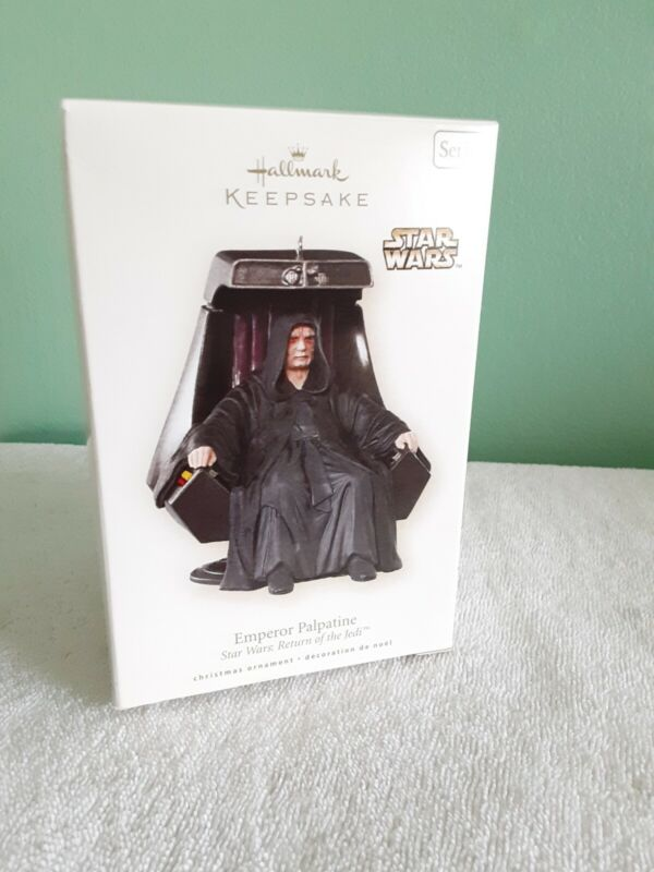 Hallmark Keepsake 2008 Emperor Palpatine Star Wars Ornament