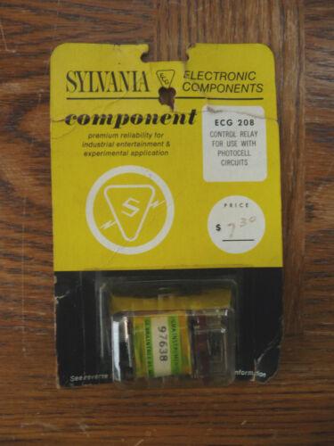 Vintage SYLVANIA Control Relay ECG 208 NOS