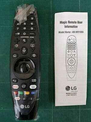 Genuine Original LG AN-MR19BA Magic Remote Control for Select 2019 LG Smart TV