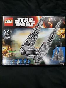 75104 LEGO STAR WARS KYLO RENS COMMAND SHUTTLE COMPLETE