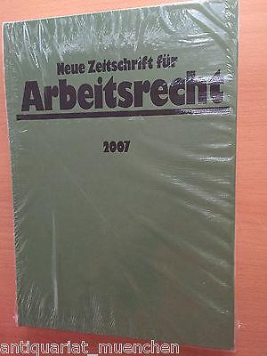 NZA Neue Zeitschrift für Arbeitsrecht Jahrgang 2007 Original GEBUNDEN