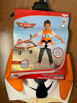 Dusty Crophopper Halloween Costume (Disney Planes Dusty Crophopper 3D Airplane Halloween Costume Child 4-6 NEW)