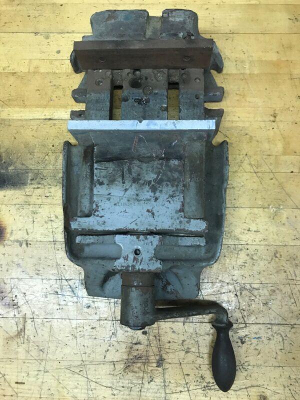 Vintage Kearney & Trecker Corp. Milling Machine Vise