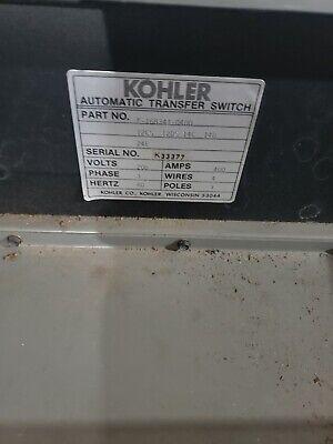 Kohler Automatic Transfer Switch 400amp 208vac 3phase