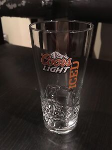 Limited edition Coors Light Iced T beer glass - brand new
