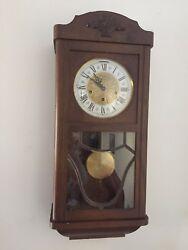Gorgeous German Regulator Clock - Jauch Triple Chime Movement - AMAZING !!!