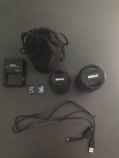 Nikon D5100 + Lens AF-S 18-105 mm + Lens AF-S 35 mm + Backpack South Brisbane Brisbane South West Preview