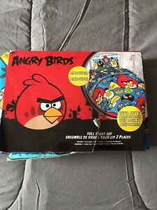 Angry Birds Kids Bedding Set
