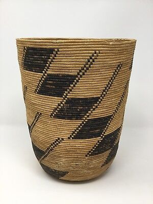 Vintage 1930's Native American Indian California Tight Weave Basket