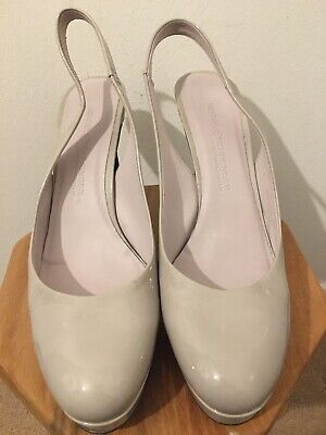 Kennel And Schmenger Womens Heels Classy Size 5 38 Nude Leather Courts Work