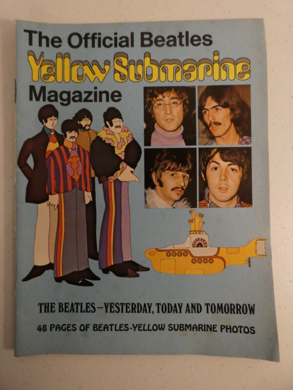 *Vintage* The Official Beatles Yellow Submarine Magazine (1968)