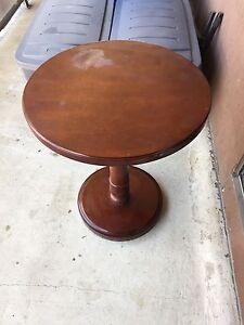 Stained cherrywood table