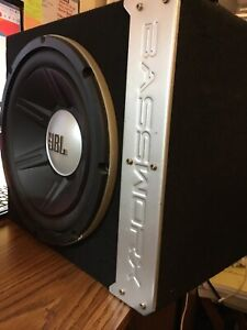 12inch solid JBL car subwoofer in a box