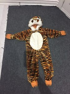 Tiger costume for 3-5 year