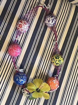 Hawaiian Golf Ball - HAWAIIAN GOLF BALL LEI : A GOLFER'S DREAM NECKLACE!
