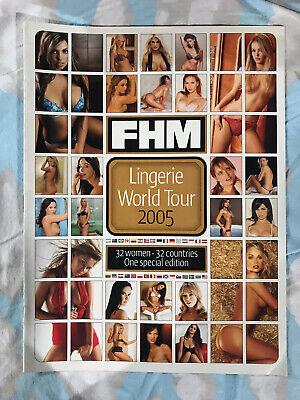 """FHM Magazine """"Lingerie World Tour"""" Supplement - 2005!"""