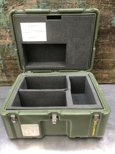 25x19x15 Exterior, Pelican Hardigg Weather Tight Transport Case Military Medical