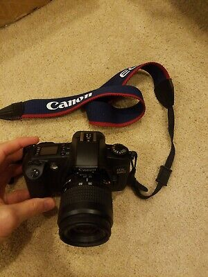 Canon Rebel EOS G 35mm Film Camera with 35-80mm zoom Lens (Smoke free, Free Ship