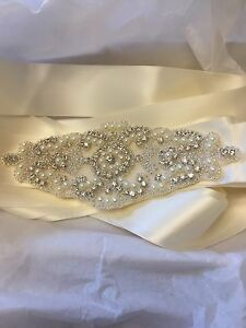 Beaded belt-wedding