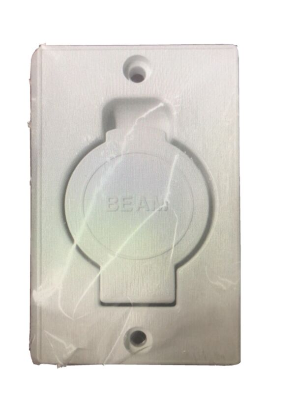 New in Original packaging-BEAM Central Vacuum Inlet Face Plate - Whte