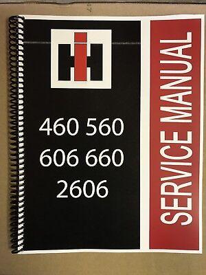 460 International Harvester Technical Service Shop Repair Manual IH Farmall - International Service Manual