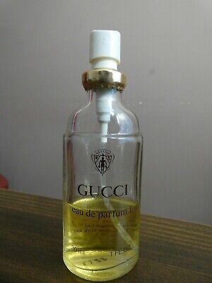 Vtg Gucci Eau de Parfum No 1 Perfume Spray 1 fl oz 30 ml 40% FULL No Cap