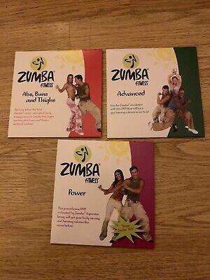 Zumba Fitness Dvd's