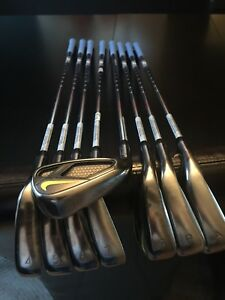 Golf clubs- Men's left hand NIKE VAPOR irons 4-A wedges