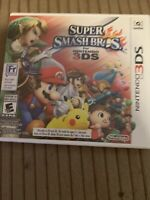 Nintendo 2ds and smash brothers 3ds